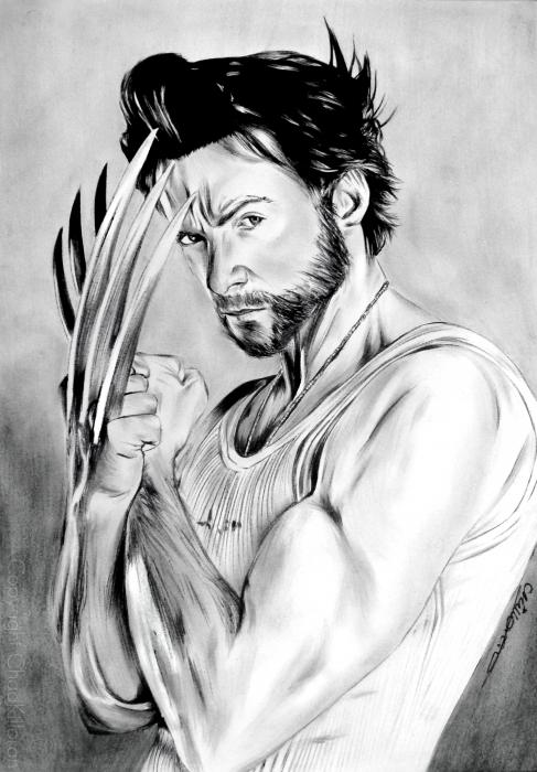 Hugh Jackman by ChadK
